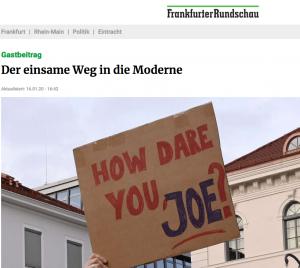 aus der Frankfurter Rundschau